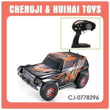 1 16 scale 2.4G high speed racing car toy model 4x4 rc trucks for sale