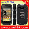 4.0 Inch Rugged Smartphone MTK6572W Dual Core Android 4.2 3G GPS 5.0MP Camera Jeep Z6