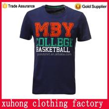custom basketball warm up shirts college t shirt cotton