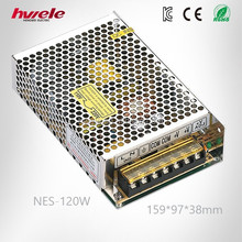 NES-120W efficient LED driver with CE ROHS CCC KC TUV certification