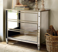 accent decor venetian mirrored furniture