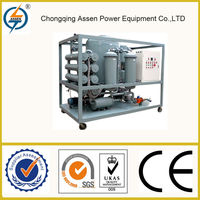 Low price double-stage vacuum transformer oil machine oil recycling filter