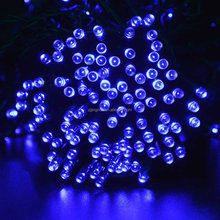 8M 60LED Solar christmas ornaments solar mini christmas tree light