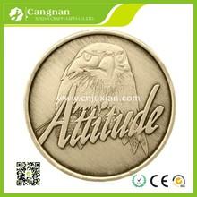 Custom blank metal coin