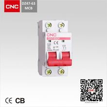 MINIATURE CIRCUIT BREAKER MCB DZ47-63 415v mcb circuit breaker