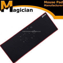 OEM production silicone mouse pad, mouse pad with wrist rest