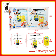 Niños plástico Inducción de Control Minions Flying Fairy juguete