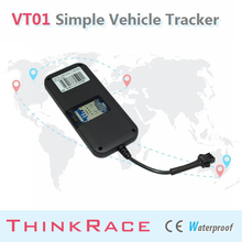 2015 Thinkrace Easy Install car alarm system VT01 With Internal GSM antenna/tracking/car gps