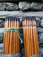 Professional 90-180cm wooden sweeping broom handle with low price