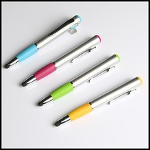 Promotional 3 in 1 multi-function plastic ballpoint pen for students