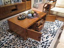 CT0802 Solid wood living room furniture coffee table chest with drawers