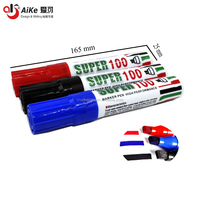 Made in China 10 mm broad tip Jumbo Capacity Super Marker Pen 100