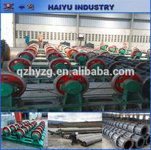 Kenya estándar de transmisión de energía de hormigón polo máquina