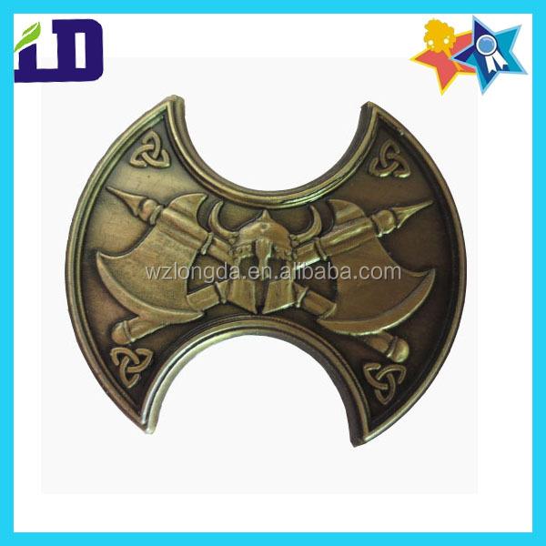 anitque gold game token