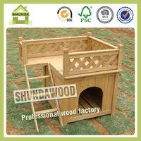 SDD01 beautiful wooden dog kennel
