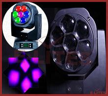 7x15W RGBW 4in1 led moving head stage decoration/ 15w led dmx512 wash led