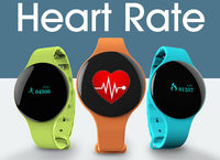 New Arrive H18 Sport Bluetooth Smart Bracelet Watch Anti-lost Health Wristband Sleep Monitor Heart Rate Tracker Smart Watch