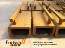 Waterproof cheap wpc outdoor plastic bench seats / Wpc Bench