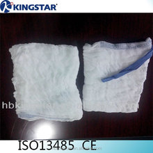 wholesale medical supplies High quality surgical (medical) X-ray detectable lap sponge hemostatic gauze