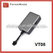 Simple Intelligent multi geo fence mini gps chip tracker for car VT08 with back up battery