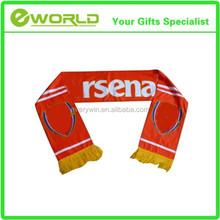 2015 Best Guality Polyester Soccer Scarf