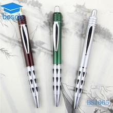 Wholesale clear plastic pens stationery & promotional pen