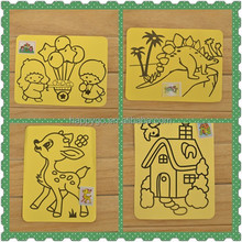 sand painting pictures for kids