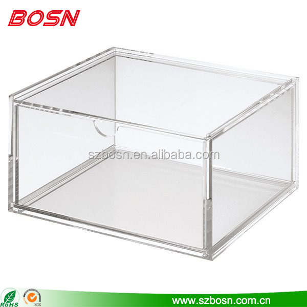 Acrylic Box With Led : Custom acrylic box with lid flat buy