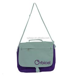 computer messenger bag / Real shot shoulder bag / custom laptop bag