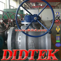 DIDTEK FLANGED END FULLY-WELDED TRUNNION TYPE BALL VALVE