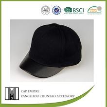 BSCI Audit children original black plain cotton snapback cap producer