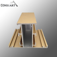 Constmart aluminium sliding folding, double glass sliding folding door white louvered doors