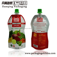 Plastic Bag with Spout,Food Packaging, Matt Material Drink Juice Pouch,Manufacturer Customizated Doypack