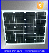 50W 18V Mono solar panel price india for home use
