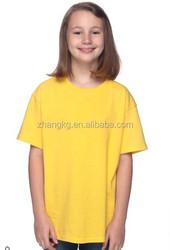 Organic cotton high quality design kids t shirts,OEM children round neck kids shirts