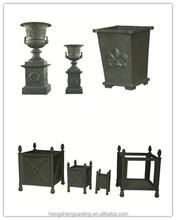 antique decorative garden cast iron urns