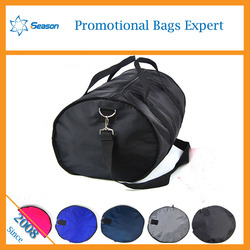 Recycling reusable factory Travel Bag sport bag Foldable duffle travel bag