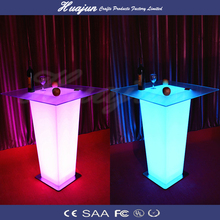 LED table with remote control 16 mix changeable colors