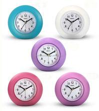 4.5 inch Plastic Round Modern Alarm Clock