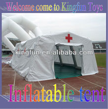 White medical inflatable hospital tent for emergency