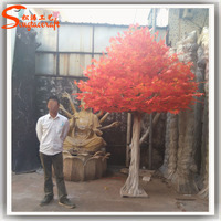 Cheap artificial maple tree red maple tree ornamental tropical plants decorative artificial trees and plants