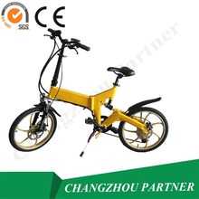 Explosion type and good look aluminum alloy foldable e bike used for outdoor sport