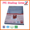 PVC cover plastic sheet a4 PVC binding cover