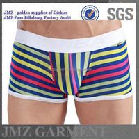 Men Underwear Boxers Low Waist Popular Design Boys Underwear custom Panties Boy Boxer Gey Sex With Underwear