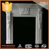 China best price nature stone sandstone gas fireplace