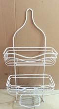 hanging bathroom iron wire shower caddy