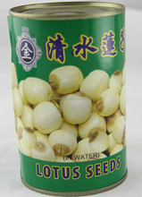 canned lotus seed in water