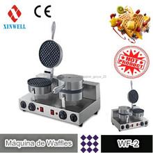Máquina de Waffles WF-2 para Ferias Industriales de Cocina de Pastelerias