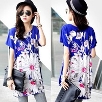 Fashion Lady Pregnant Women Loose Batwing Sleeve blouses for pregnant SV016929