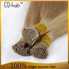 Virgin Remy Human Hair,Keratin Hair Extension,1g/s 100g/pack Color 613 I Tip Hair